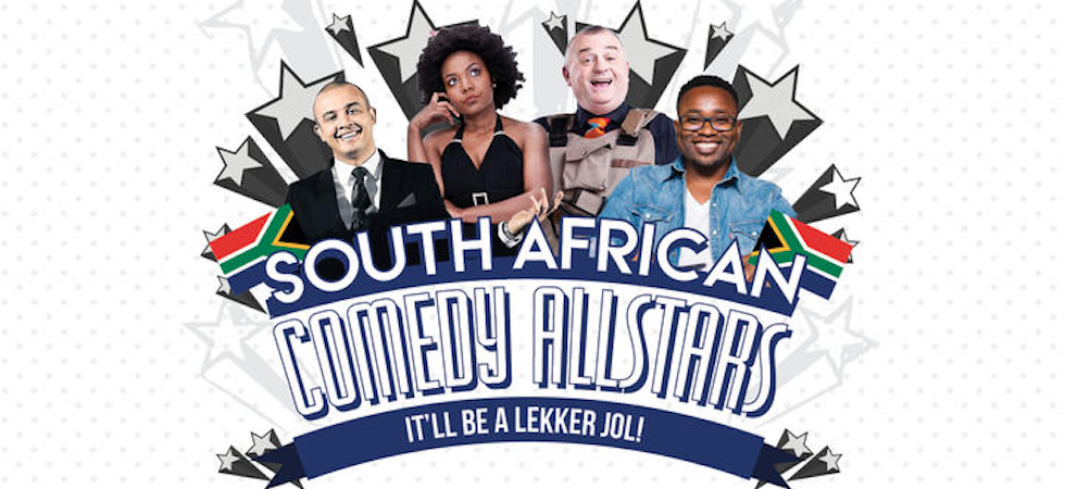 South African Comedy All Stars 980x450