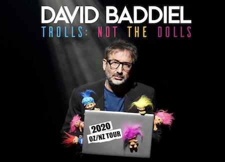 DAVID BADDIEL: TROLLS NOT THE DOLLS