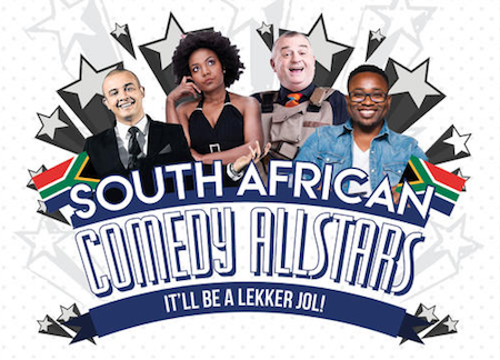 SOUTH AFRICAN COMEDY ALLSTARS